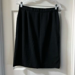 Dana Buchman Black Pencil Skirt size 6